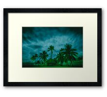 Paradise storm Framed Print