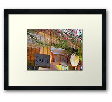 Japan Town I'll have a melon shaved Ice Framed Print