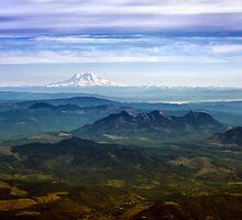 Mt. Rainier, Washington  by Don Siebel