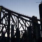 Story Bridge silhouette by PhotosByG