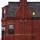 Brick Chimney, Back Bay by Jane McDougall