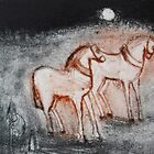 Escape Horses Waiting by ROSEMARY EAGLE