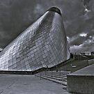 The Cone At The Museum Of Glass by Vincent Frank
