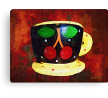 Cherry Espresso Canvas Print