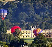 Bristol Balloon Fiesta. In front of Ashton Court House by fishface220