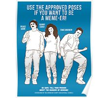 Acceptable Memes Poster