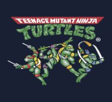 TMNT C64 Arcade Game by chrisbarton303