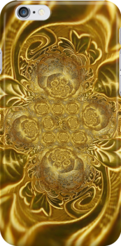 Gold Plated Series*03 by Vidka Art