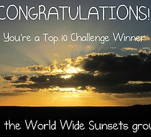 World Wide Sunsets Top 10 Banner by FrogGirl
