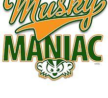 Musky Maniac by gstrehlow2011