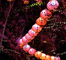 Lanterns in the Arbour by Richard Murias
