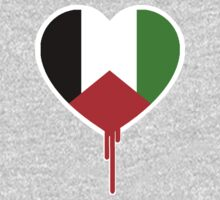 PALESTINE BLEEDING HEART by SOL  SKETCHES™