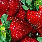 Sweet Strawberries by DionNelson