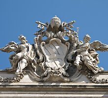 Trevi fountain sculpture by Anne Scantlebury