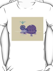 The Purple Turtle And A Bluebird Of Glee T-Shirt