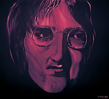 John Lennon 2 by markmoore