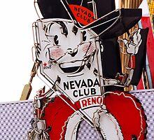 Reno - Old Nevada Club by Frank Romeo