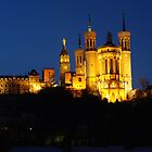 Basilica of Fourviere by Debellez
