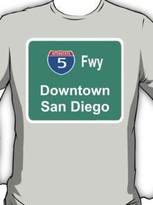 INTERSTATE 5: DOWNTOWN SAN DIEGO T-Shirt