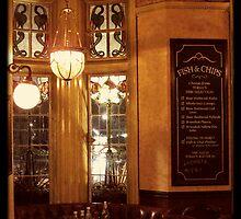 Retro London Pub by Heidi Hermes