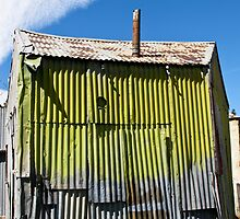 corrugated iron shack by Anne Scantlebury