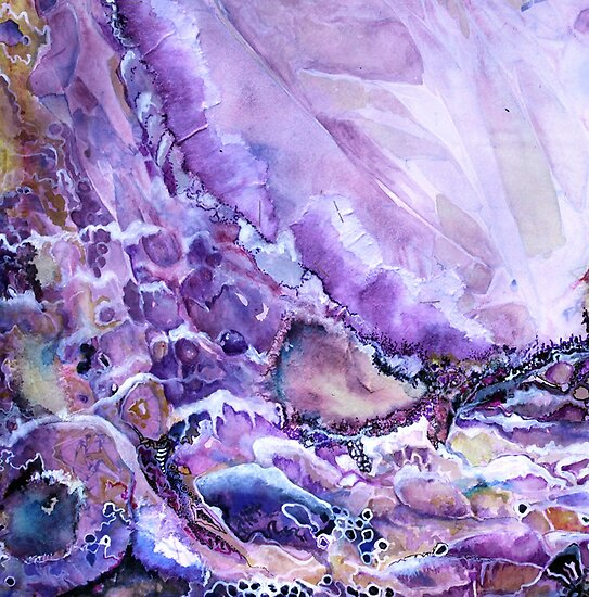 Rhapsody in Violet by Janelle McKain