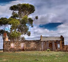 Remains of another Time IV - Sedan, Murraylands, South Australia by Mark Richards