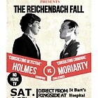 HOLMES vs MORIARTY by thanksforthetea