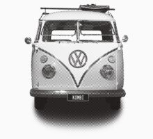 Volkswagen Kombi - News Print  by blulime