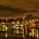 Ormeau Bridge by peter donnan