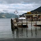 Queenstown Jetty by Karen Lewis