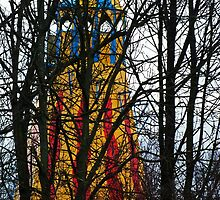 Helter Skelter through the Trees by Yampimon