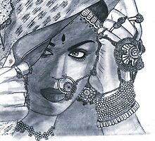 An Indian Bride by Bobby Dar