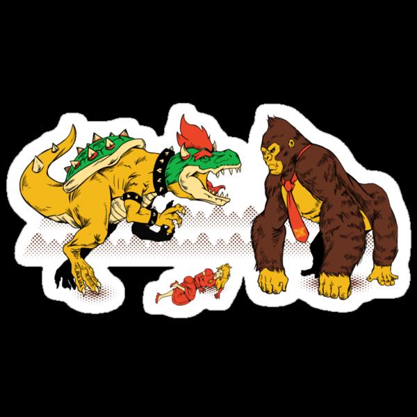 Boss vs Kong by MeleeNinja