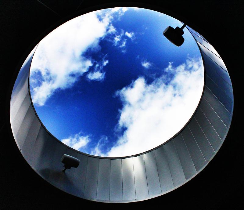 Window to the Clouds - U.C. by Alex Baker