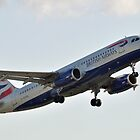 British Airways A320 by merlin676