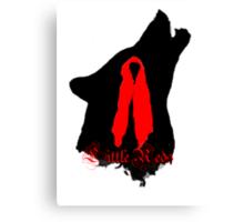 Little Reds- cloak Canvas Print