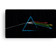 Dark Side of the Grid Canvas Print