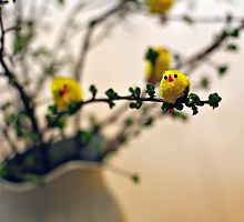it was almost an easter tree by Gregoria  Gregoriou Crowe