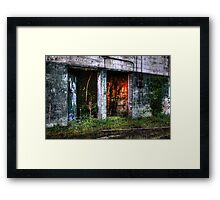 Doors to no where Framed Print