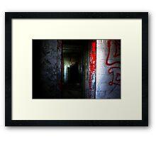 Silent Halls Framed Print