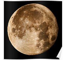 Hawaii's Super Moon Poster