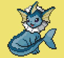 Vaporeon 8-bit Kids Clothes
