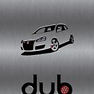 dub mk5 brushed steel by Benjamin Whealing