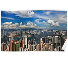 Victoria Peak - Hong Kong Poster