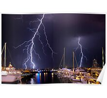 Storm over Nantucket Poster