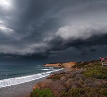 Storm Front Over Jan Juc by annibels
