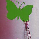 Butterfly Art by Mark Wilson