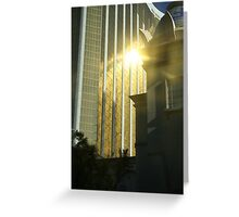 The Golden City Greeting Card