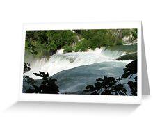 Waterfalls of Krka Greeting Card